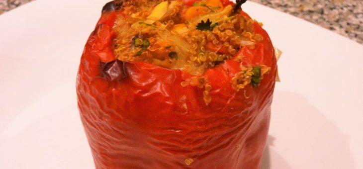 Gefüllte Paprika – vegan, glutenfrei und lecker kochen