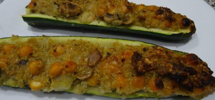 Gefüllte Zucchini – vegan, glutenfrei und super lecker!