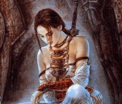 Die weibliche Kraft und die Kriegerin